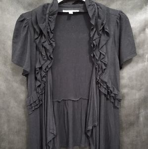 Black throw shirt